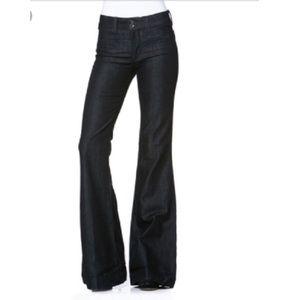 Habitual wide leg jeans in eventide